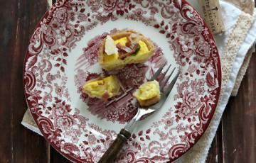 Tartellette con crema di Parmigiano