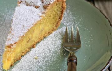 Torta Di Mandorle E Crema Al Limone Senza Latte Ricette Donatella