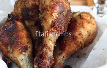 Pollo fritto... senza friggere