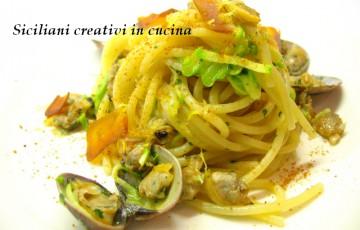 Pasta con zucchine e vongole