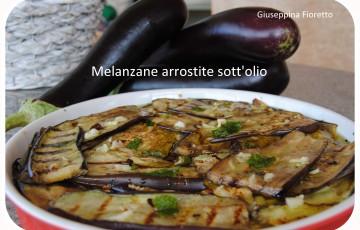 melanzane arrostite sott'olio