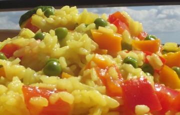 La paella vegetariana