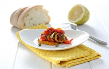 Insalata di peperoni al limone