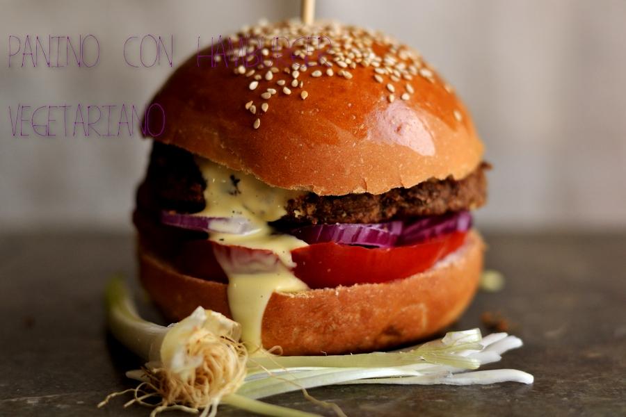 Eccezionale Panino con hamburger vegetariano - ricette Tamara Giorgetti - D  QK21