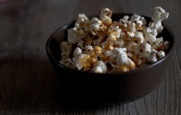 Popcorn al Fleur de sel, cioccolato e caramello