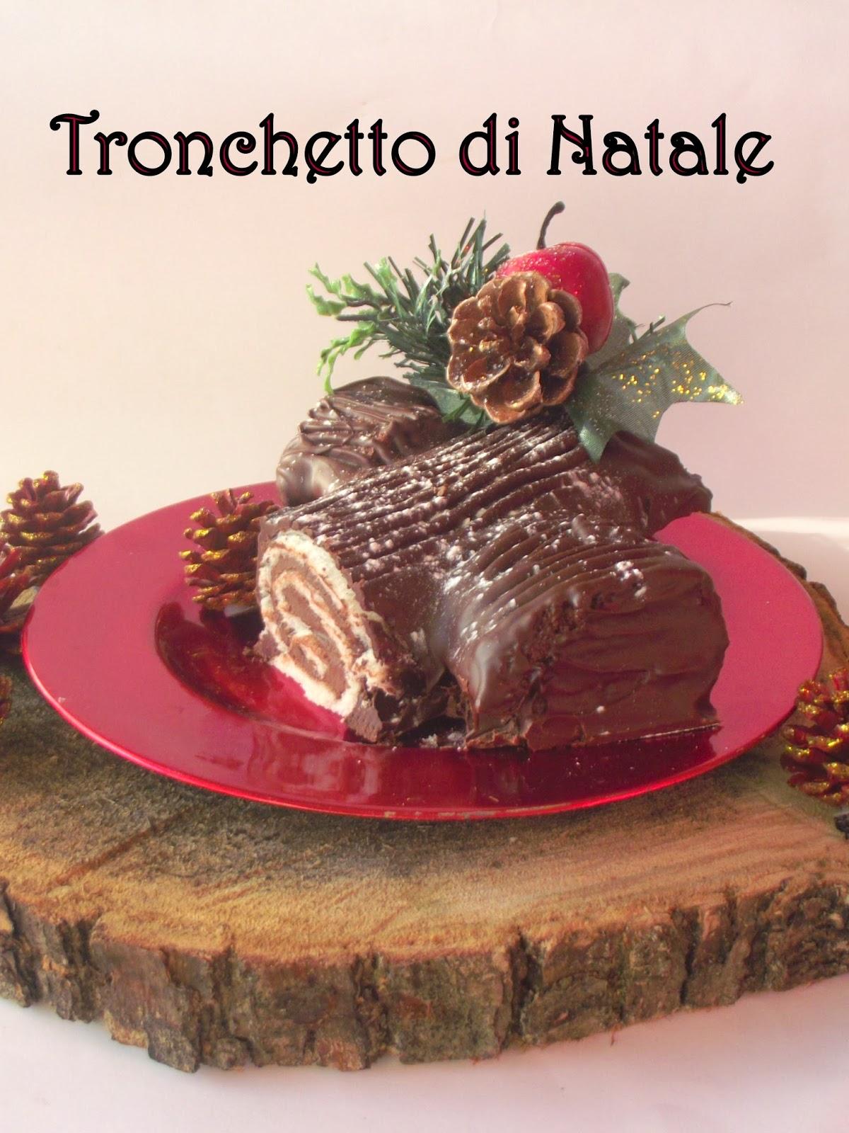 Torta Tronchetto Di Natale.Il Tronchetto Di Natale Con Il Trucchetto