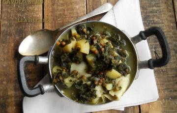 Minestra di cavolo nero e patate ottimo detox ricette tamara