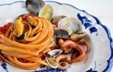 Ricetta pasta con datteri di mare