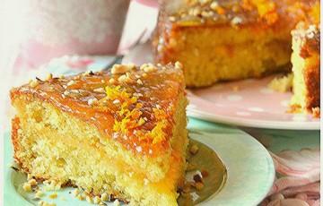 Torta all'arancia agrumi e mandorle