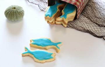 Biscotti pesce d'aprile