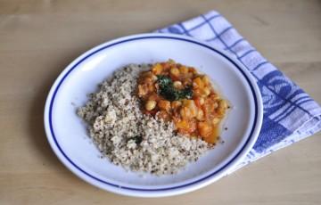 Quinoa e ceci naturalmente senza glutine