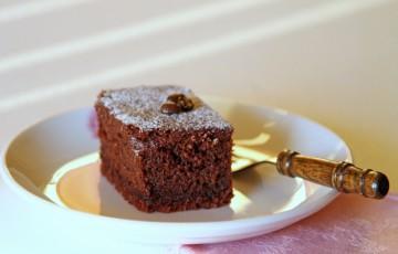 Torta cioccolato, caffè e... maionese