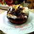 Mini cake con gelato al croccantino