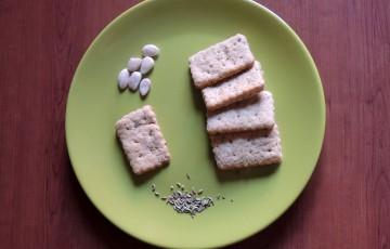 Biscottini salati mandorle & semi di finocchio!