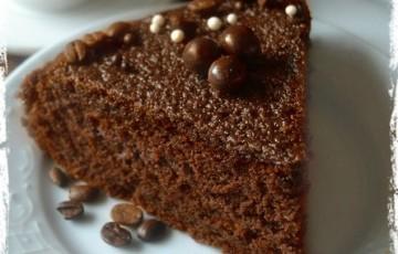 Torta al caffè e cacao vegan