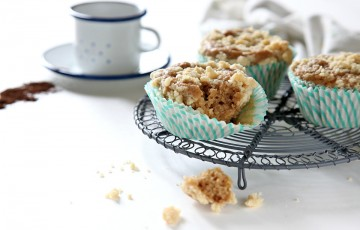 Muffin al caffè espresso e latticello