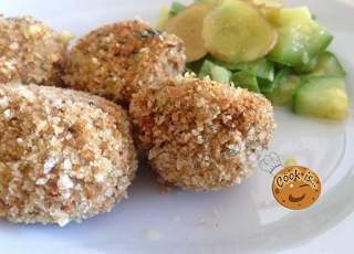 Crocchette Di Zucchine Con Tonno E Zenzero Ricette Cook Is D