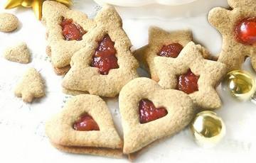 Biscotti natalizi alla canapa sativa