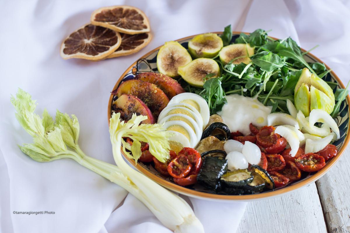Insalatona antipasto piatto unico o secondo ricette for Cucina antipasti