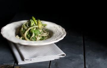 Pici toscani con germogli di zucchine #unpiattoD
