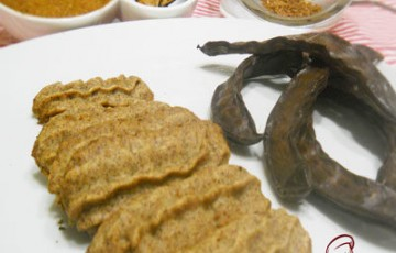 Biscottini con farina di carrube