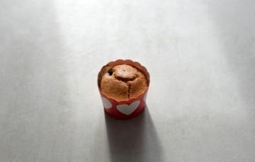 Muffins ai mirtilli e latte di mandorle