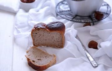 Pan brioche leggero alle castagne