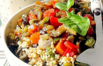 Cous cous speziato alle verdure