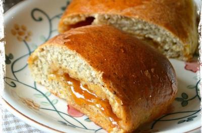 Saccottini al grano saraceno e confettura di albicocche
