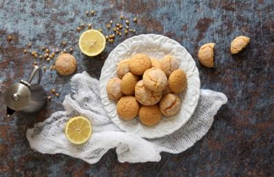 Biscotti secchi con farina di mais