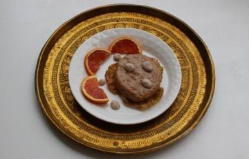 Hamburger alla crema d'arancia