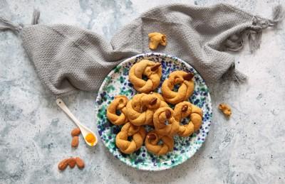 Taralli con farina di quinoa e curcuma