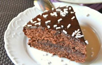 Torta Senza Uova Al Cioccolato.Torta Al Cioccolato Senza Uova E Burro