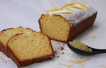 Plumcake con marmellata al limone
