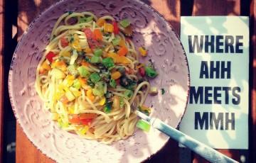 Spaghetti dell'orto (vegan-glutenfree)