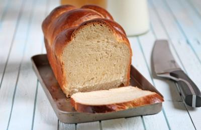 Pan brioche al miele con lievito madre