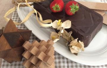 Mattonella cioccolato e wafer