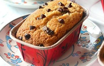 Mini plumcake semintegrali al cioccolato