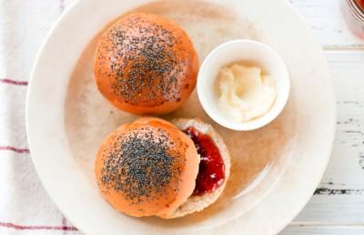 Panini dolci da colazione per #unpiattoD