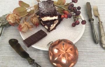 Moka Cheesecake Brownies