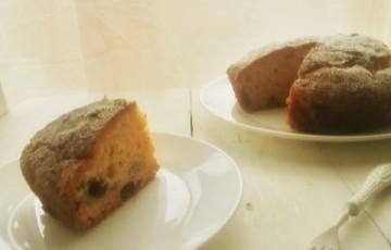 Torta vintage ai mirtilli