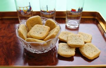 Biscottini salati al gorgonzola
