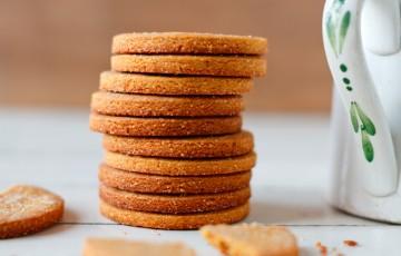 Biscotti con mandorle e vaniglia