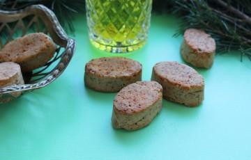 Biscotti salati alle noci e peperoncino