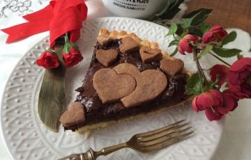Crostata romantica e frolla alla farina di cocco