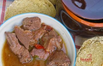pezzetti di carne salentini alla pignata