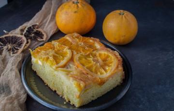 Torta rovesciata alle arance