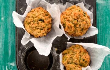 Tortini con zucchine al pesto