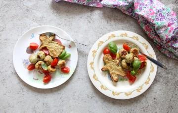 Polpette pollo e zucchine