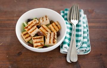 Tofu grigliato alle erbette